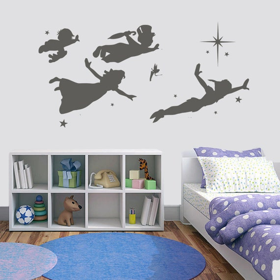 PETER PAN SHADOW WALL STICKER on The Hunt