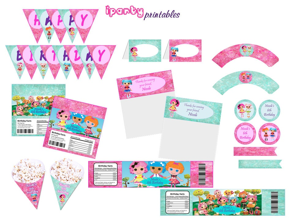Polka Dot Pinwheel Parties's Birthday / LalaLoopsy - Photo Gallery at Catch My Party.