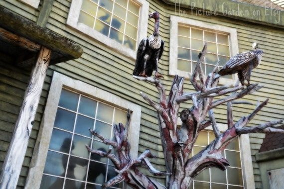 Spooky Mansion - Fun Stuff Collection - Digital Image File Photo Download