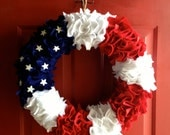 Summer Fourth of July Wreath - KMMGdesigns