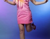 Neon - hand dyed dress /murMur