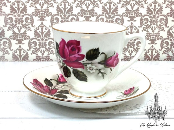 Daringly Sweet Teacup & Saucer