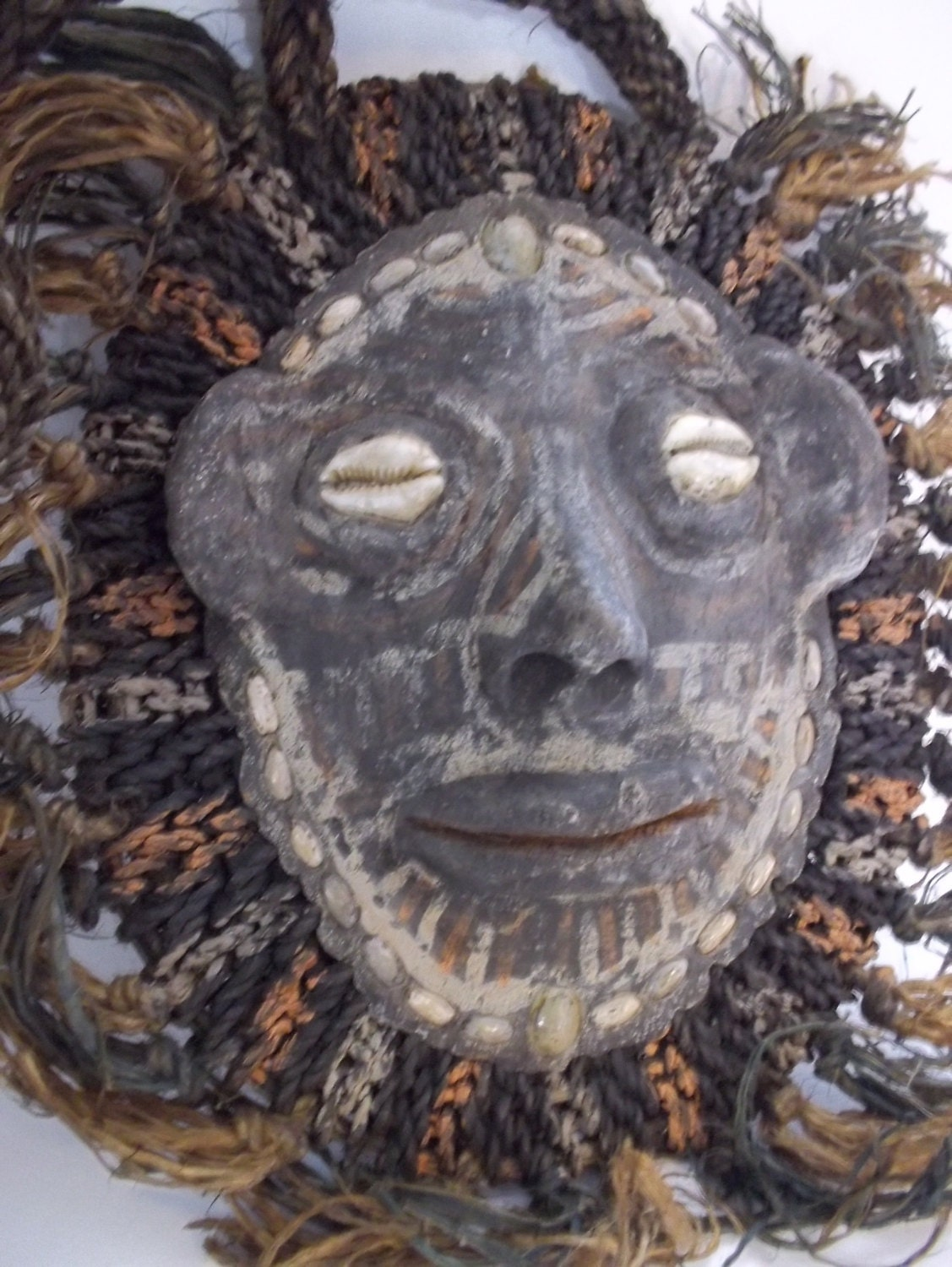 ViNTAGE PAPUA NEW GUiNEA Turtle Mask/ Middle Sepik River Papua New Guinea/ SPiRIT Mask/ Ceremonial Masks/TRiBAL ART