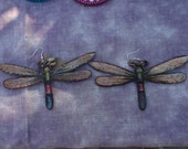 Dragon Flies . Ear Dangles