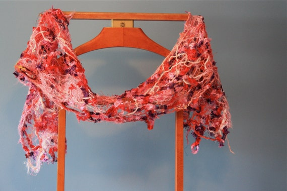 Heather Eleganza Scarf in purple and pink