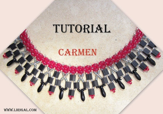 Tutorial Carmen SuperDuo&Tila Necklace PDF