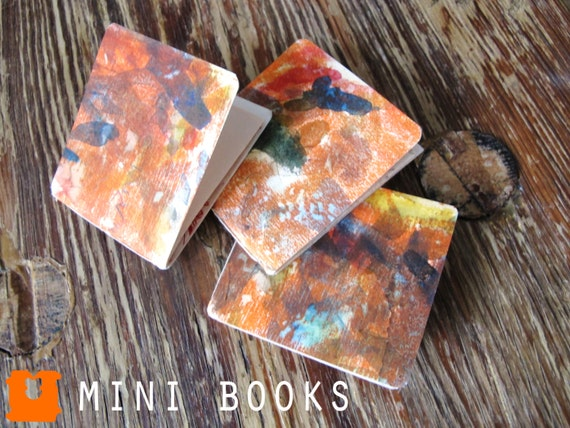 ORANGE CRUSH - Set of 3 Mini Books