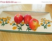 Love It Sale Yellow Flowers Serving Tray