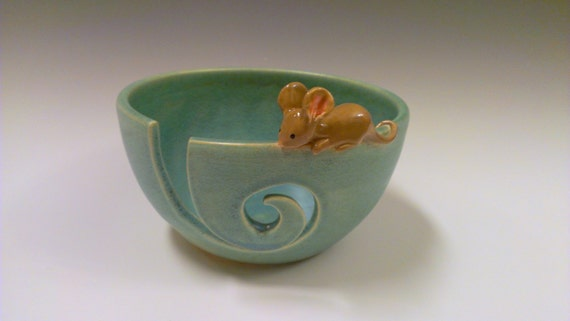 Mouse Yarn Bowl - Made to Order