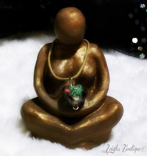 Divine Mother United In Love Gypsum Goddess Statue