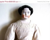 sToReWiDe sale Reproduction Jenny Lind Doll - Civil War - Vintage