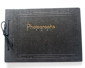 Vintage photo album with 21 photographs, 1930s - PassionateKitsch