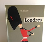 Vintage M.Sasek Italian Edition of LONDRES/London 1960