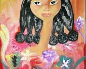 La Doncella Painting