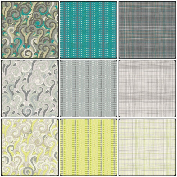 Textures by Angela Walters -  9 Half Yard Bundle