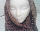 Beautiful Crocheted Neck Scarf Warmer