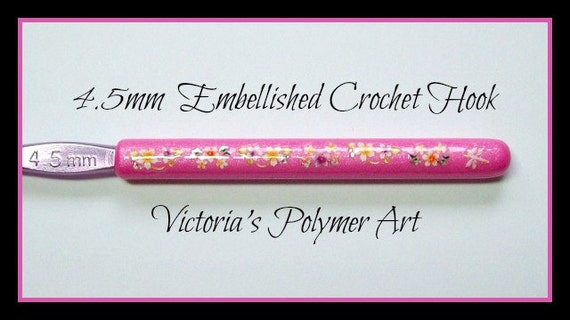4.5 mm Embellished Crochet Hook