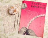 Laces and Edgings Vintage Crochet Edging Patterns by HookStitchTreasure on UpcycleFever