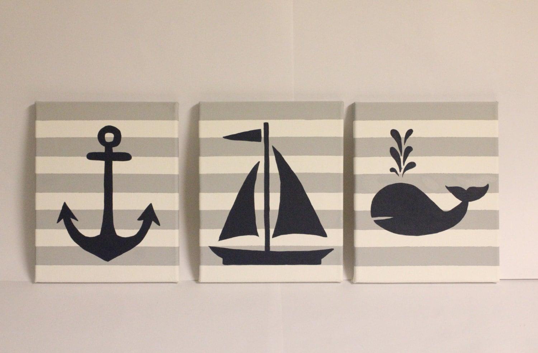 wall decor nautical simple home decoration. Black Bedroom Furniture Sets. Home Design Ideas