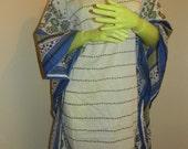 Blue Vines Tunic Dress