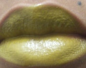 MINERAl Lip Gloss VEGAN : Mossy Lady with Melissa Essential oil , shine . SALE
