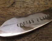 Spread Peace Hand Stamped Vintage Flatware