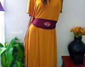 Organic Desert Sands Harvest Kaftan Dress