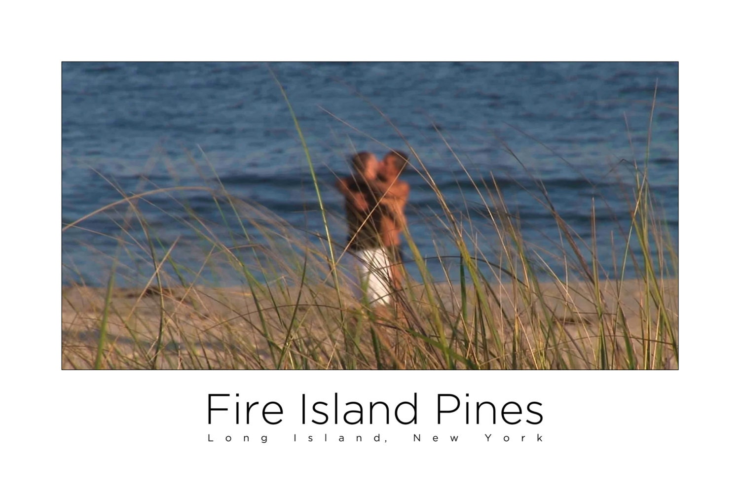 Fire Island Pines Poster - Beach Kiss