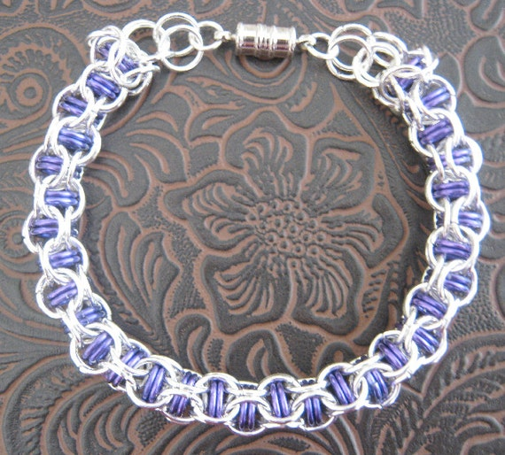 Wrath of Grapes Chainmaille Bracelet