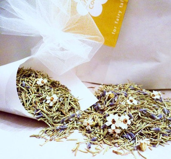 Wedding Blessing Herbs flower confetti - 25-Cup Bag - for fairy tale endings. . .
