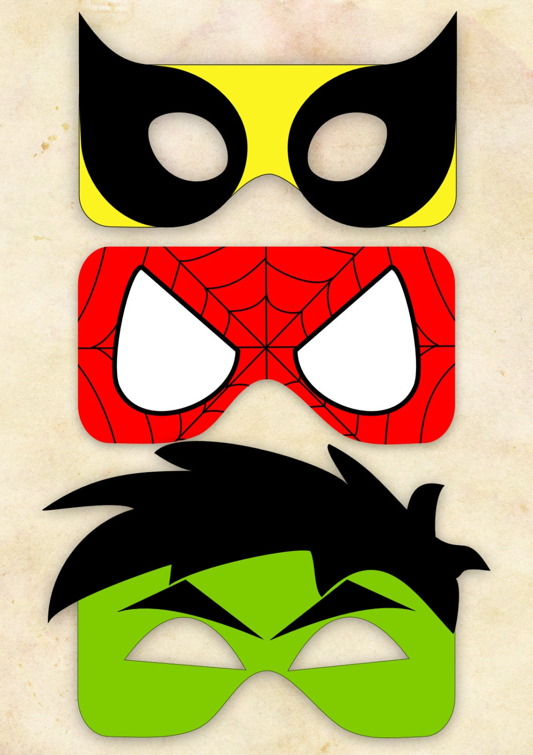 Diy superheroe masks is it for parties is it free is for Avengers mask template