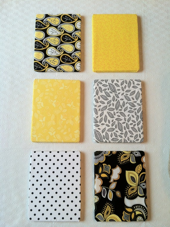 Yellow, Black, White and Grey Wall Hangings/Wall Decor