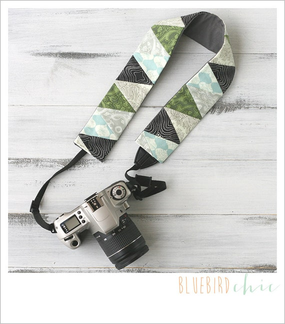 try the angle camera strap cover - forest