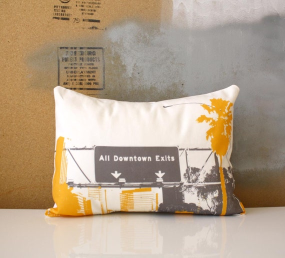 Los Angeles Pillow - Urban Throw Style no19