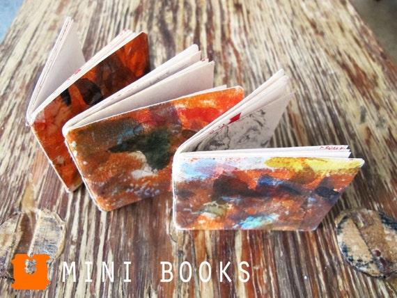 ORANGE CRUSH - Set of 3 Mini Books