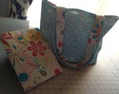 Teal and Floral Gift Set