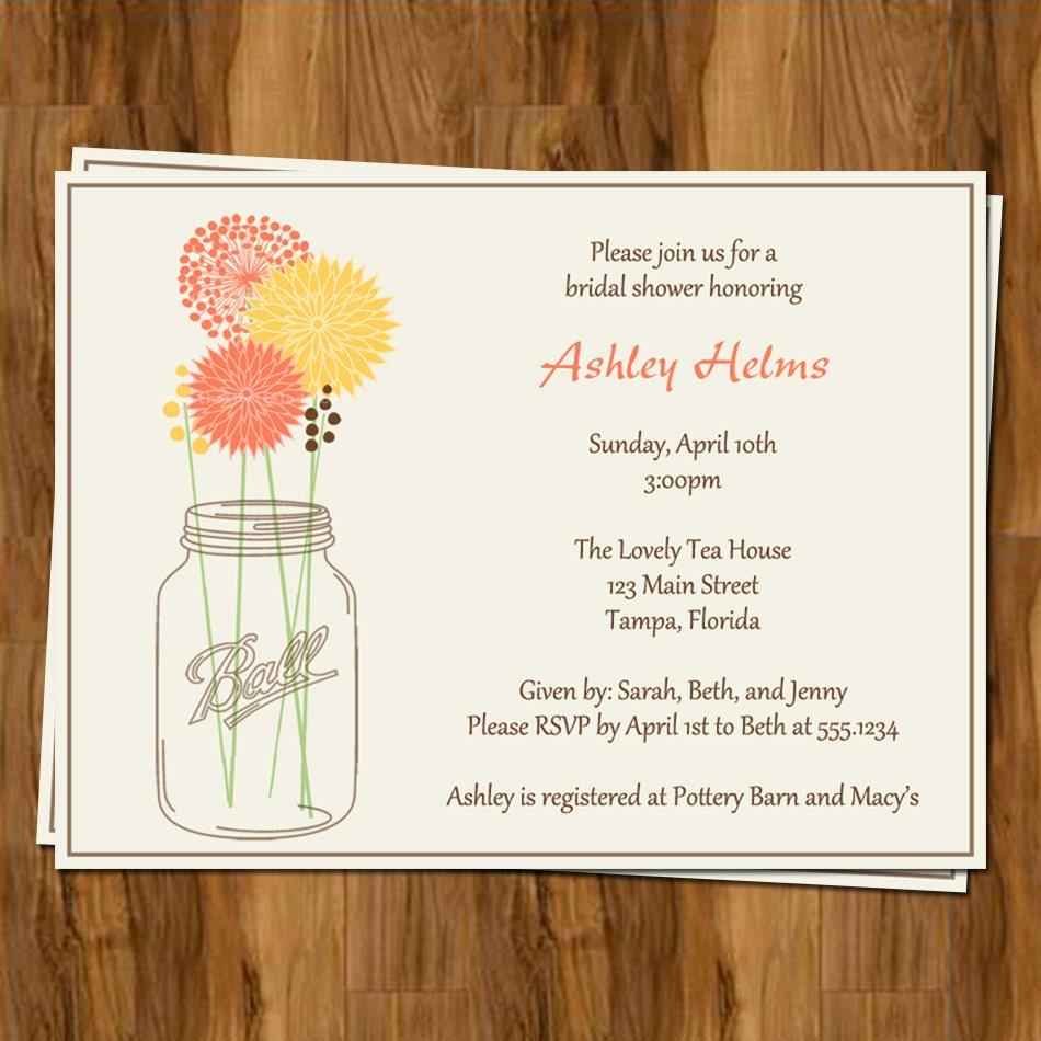 Bridal Shower Invitations Free Shipping