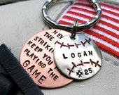 Baseball Player/Coach Keychain - CharmsofFaith