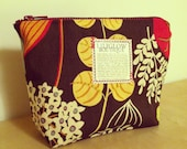 Liliglow Boutique's Floral Rustic Medium Makeup Case
