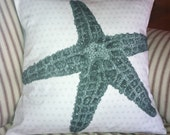 Sea Star Pillow Cover 16 inches