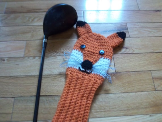 Fox Golf Club Cover Pattern - PDF Pattern