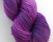Hand dyed BASIC fingering weight Sock Yarn Skein - superwash merino and nylon blend - SWN103 - mulberryfibers