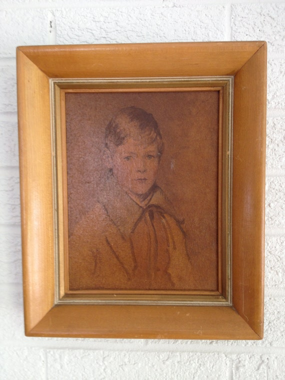 "Vintage Little Boy Portrait - ""Peter"""