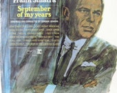 September of my Years vintage Frank Sinatra album