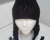 Crochet Winter Beanie Hat