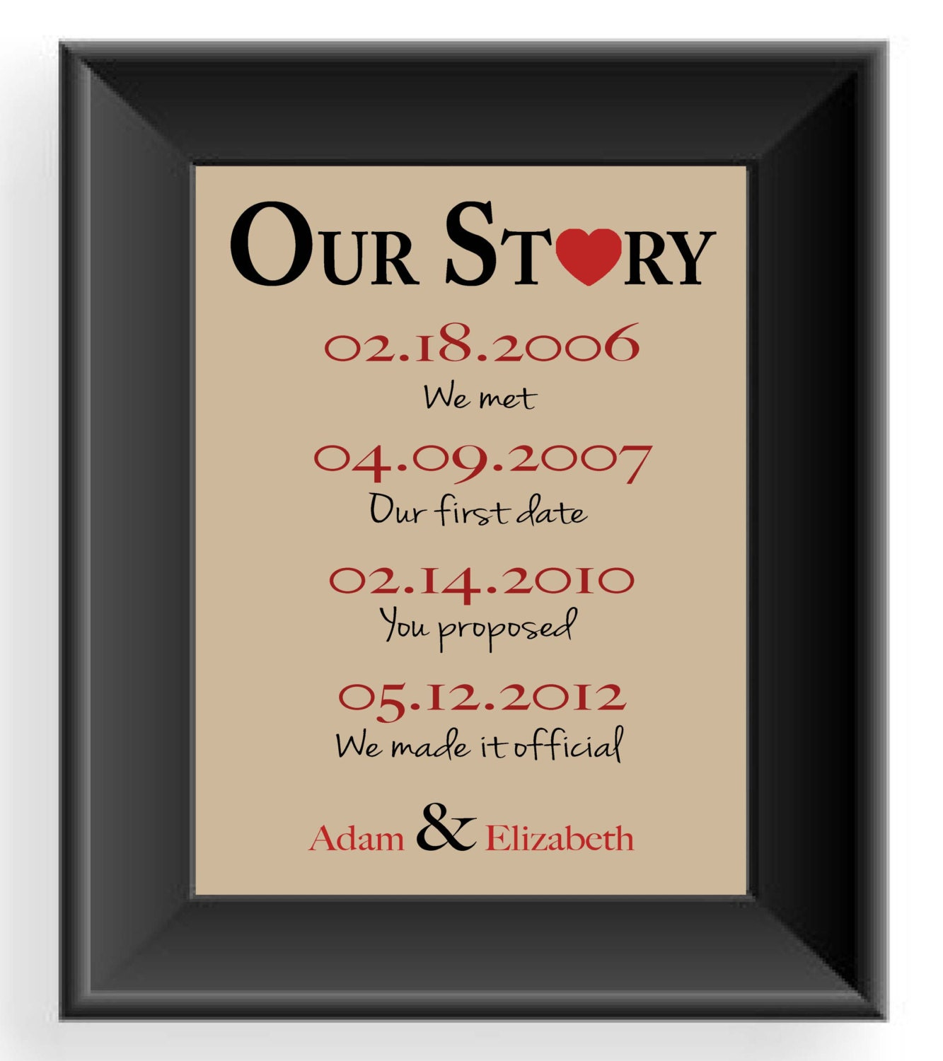Wedding anniversary gifts best 1st wedding anniversary for First wedding anniversary gift for her