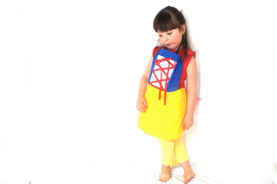 Dress Up Apron - Snow White