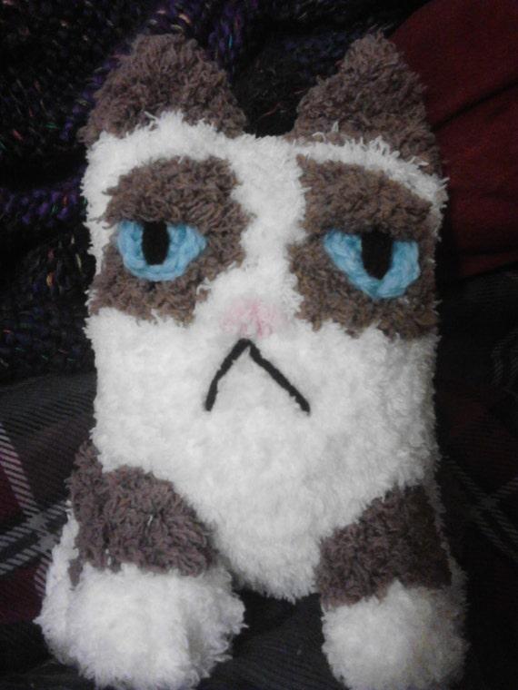 Grumpy Cat amigurumi