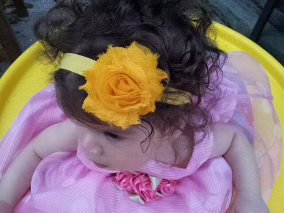 Flower Headband , Vintage Purple Flower Headband , Baby Headband Newborn Baby Toddler Headband