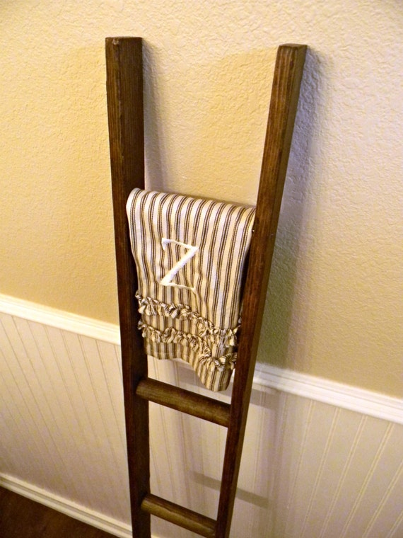 Handmade decorative ladder
